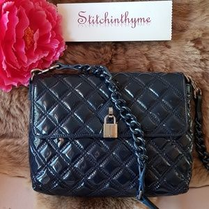 MARC JACOBS ITALY THE LARGE SINGLE QUILTED SH BAG
